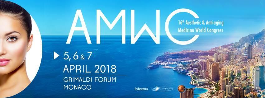 AMWC – MONACO – April 5-7, 2018