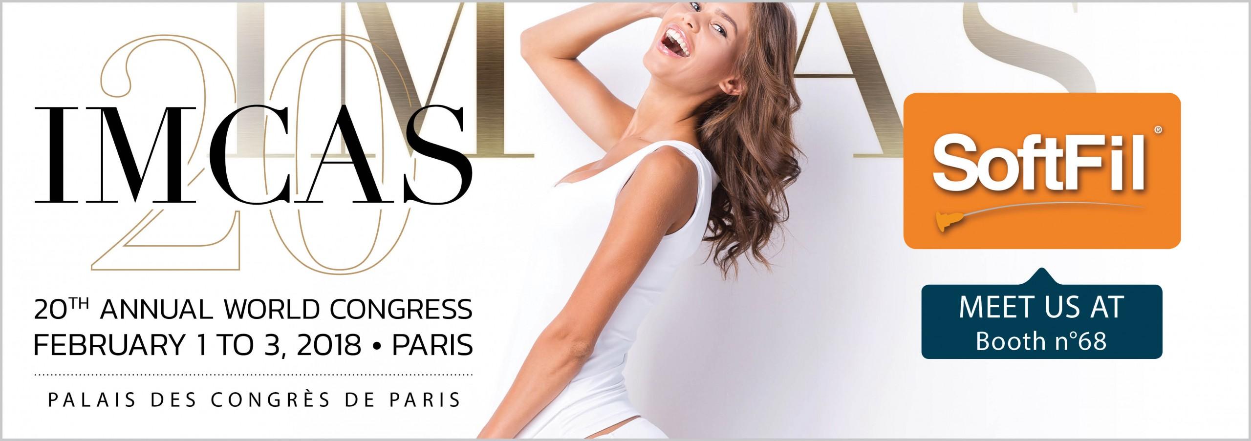 IMCAS 2018 – Paris 20th Edition