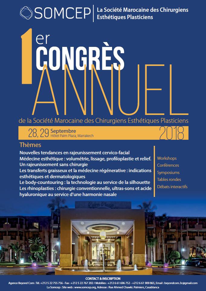 SOMCEP 2018 - MARRAKECH - 28-29 septembre 2018