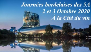 Congress 5A – BORDEAUX – October 2-3, 2020