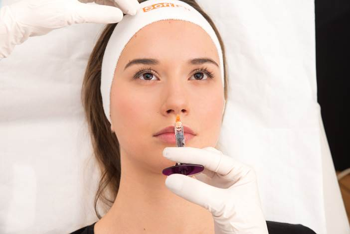 microcannula injection nose